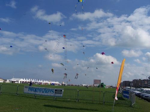 Kites over Dieppe